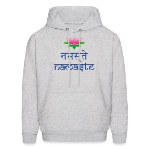 Men's Namaste Hooded Sweat Shirt - Men's Hoodie