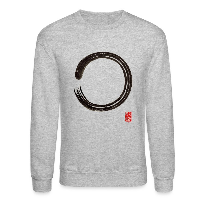 Men's Enso Sweat Shirt - Crewneck Sweatshirt