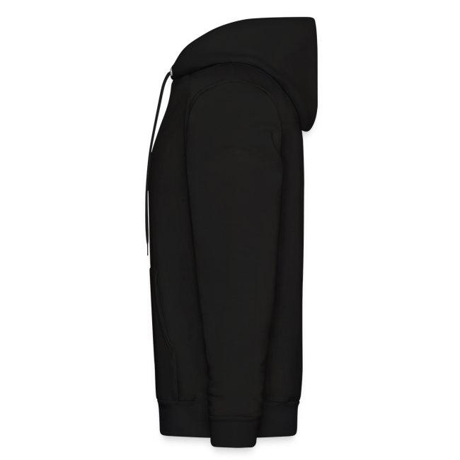 "Men's ""White Enso"" Hooded Sweat Shirt"