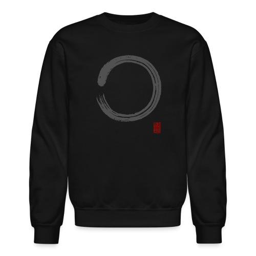 Men's Gray Enso Sweat Shirt - Crewneck Sweatshirt