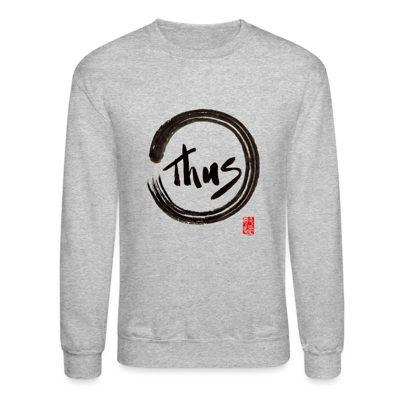 Men's Thus Sweat Shirt - Crewneck Sweatshirt