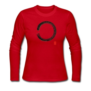 Women's Enso Long Sleeve T-Shirt - Women's Long Sleeve Jersey T-Shirt