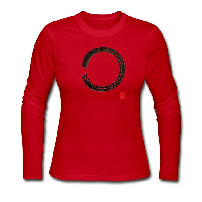 "Women's ""Enso"" Long Sleeve T-Shirt"