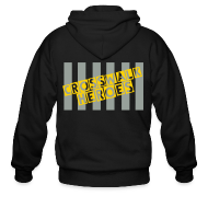 Zip Hoodies & Jackets ~ Men's Zip Hoodie ~ Crosswalk Heroes Sweater
