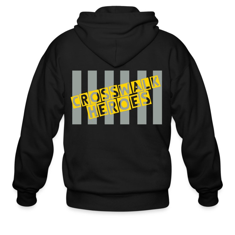 Crosswalk Heroes Sweater - Men's Zip Hoodie