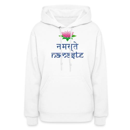 Women's Namaste Hooded Sweat Shirt - Women's Hoodie