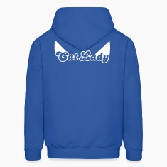 CAT LADY with cute little catty ears Hoodies