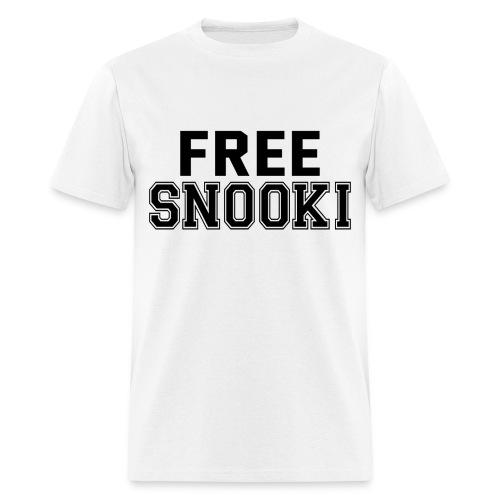 FREE SNOOKI! - Men's T-Shirt