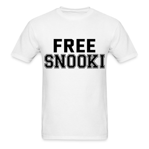 FREE SNOOKI! - Men's T-Shirt