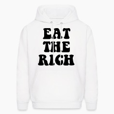 Eat The Rich Occupy Wall Street Hoodies