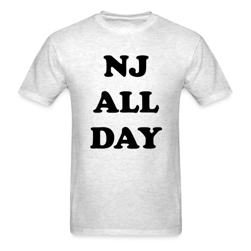 NJ All Day - Men's T-Shirt