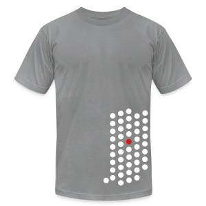 Indianapolis, IN - Mens - Men's T-Shirt by American Apparel