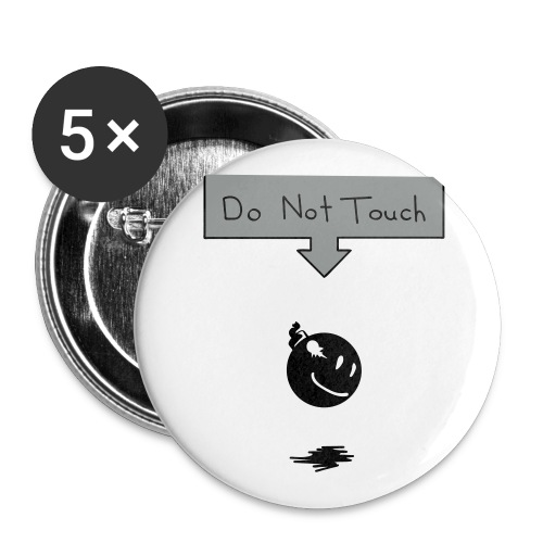 DO NOT TOCH buttons - Large Buttons