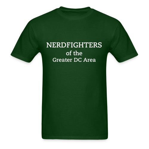 DC Nerdfighters T-Shirt - DFTBA Back - Men's T-Shirt