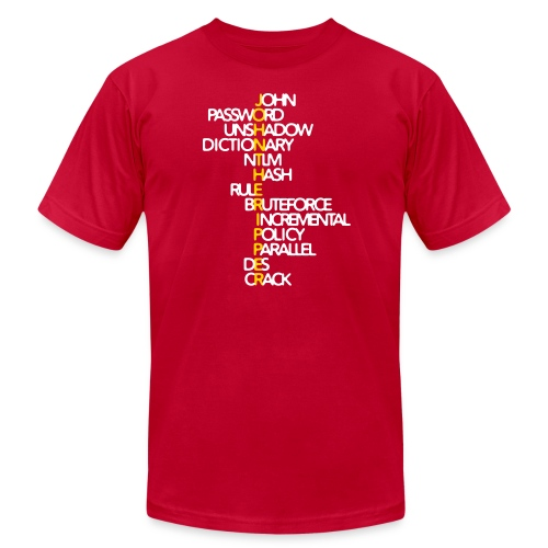 JtR Crossword ($25 Donation) - Men's Jersey T-Shirt
