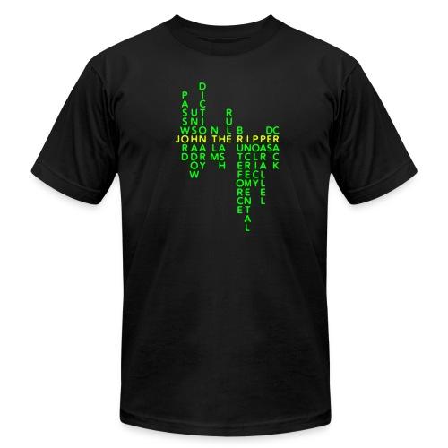 JtR Crossword II ($25 Donation) - Men's Jersey T-Shirt