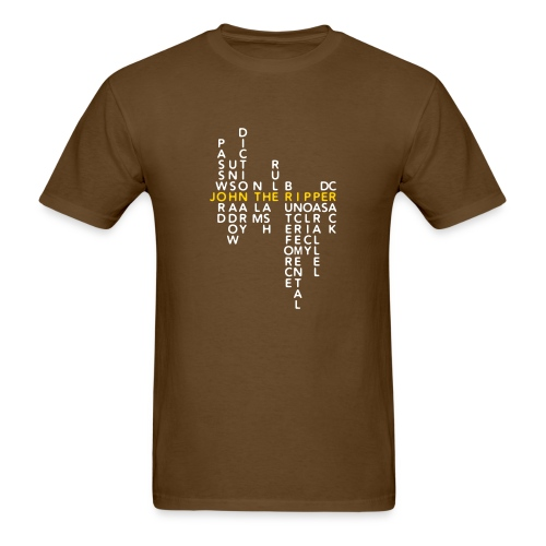 JtR Crossword II ($25 Donation) - Men's T-Shirt