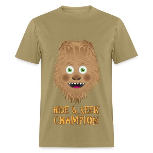 Hide & Seek for guys. - Men's T-Shirt