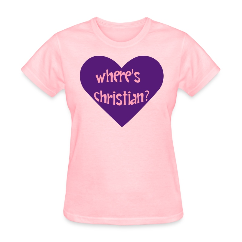 Where's Christian? - Women's T-Shirt