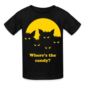 Where's My Candy? - Kids' T-Shirt