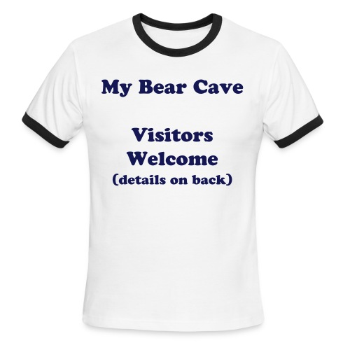 Bear Cave - Men's Ringer T-Shirt