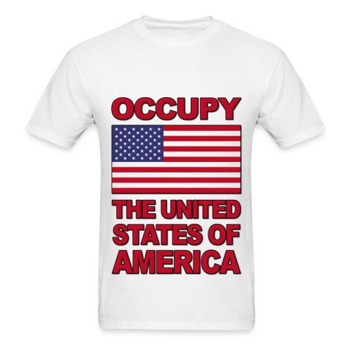 Occupy The USA - Men's T-Shirt