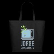 Bags & backpacks ~ Eco-Friendly Cotton Tote ~ Jorge Cervantes TV Eco-Friendly Handbag (Metallic Silver)