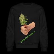 Long Sleeve Shirts ~ Crewneck Sweatshirt ~ Jorge Cervantes TV Thumbs Up Bud