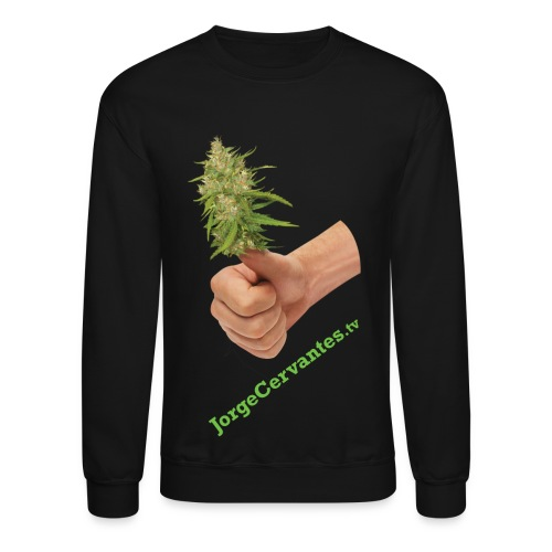 Jorge Cervantes TV Thumbs Up Bud  - Crewneck Sweatshirt