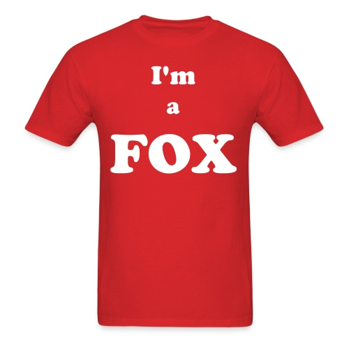 I'm a FOX - Men's T-Shirt