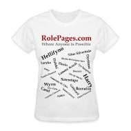 T-Shirts ~ Women's T-Shirt ~ RolePages Character Name Shirt 3 - 10/17/11