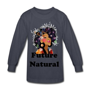 SN&LI! Natural Kid - Kids' Long Sleeve T-Shirt