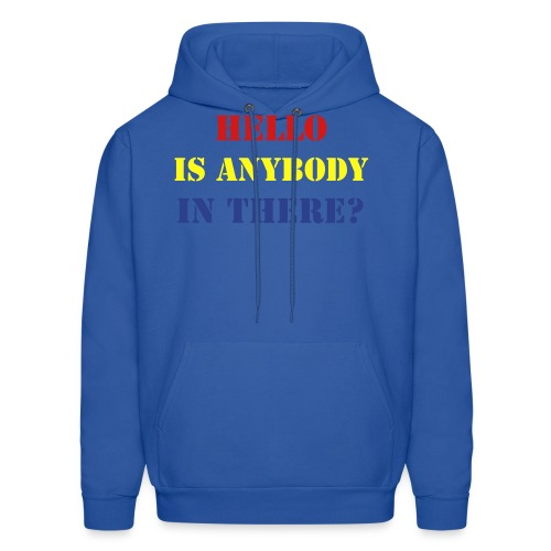 Is Anybody In There Hoodie - Men's Hoodie