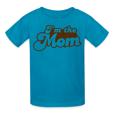 I'm the MOM Kids' Shirts