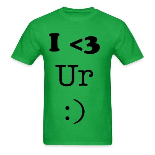 I Heart Your Emoticon - Men's T-Shirt