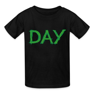 Some Like Their Day Green [K] - Kids' T-Shirt
