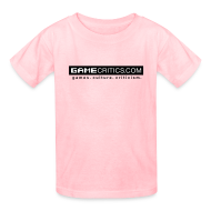 Kids' Shirts ~ Kids' T-Shirt ~ GameCritics.com for Children