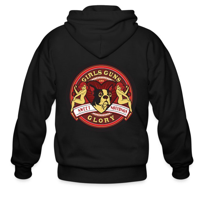 Mens Zipper Hoodie - GGG Sweet Nothings