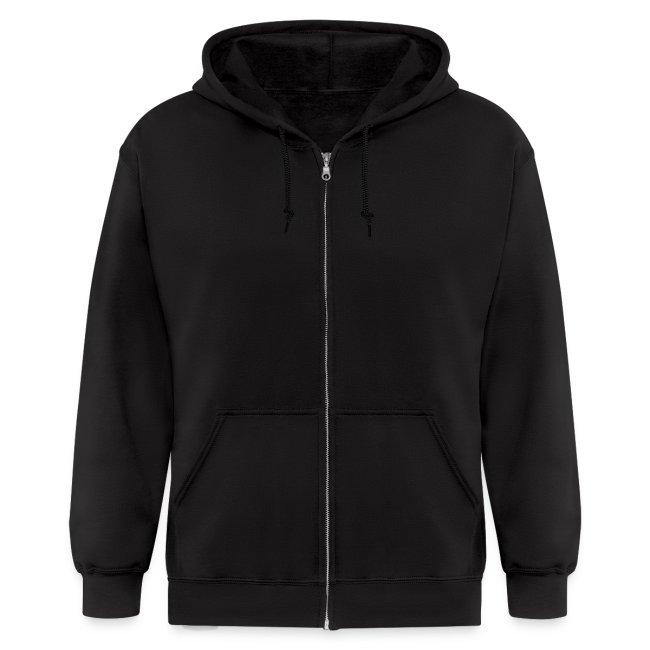 Mens Zipper Hoodie - Sweet Nothings (spreadshirt exclusive design)