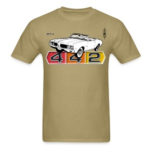 Oldsmobile 442 convertible - Men's T-Shirt