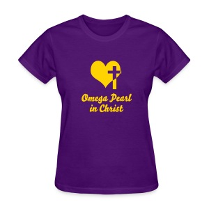 Omega Pearl in Christ - Women's T-Shirt