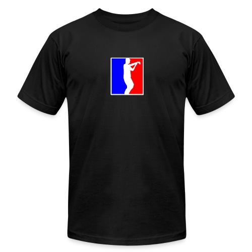 Men's Black American Apparel Tai Chi T-Shirt - Men's Fine Jersey T-Shirt
