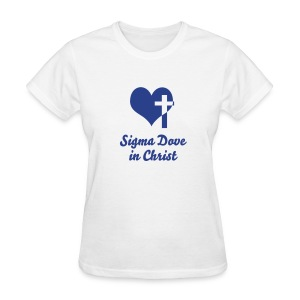 Sigma Dove in Christ - Women's T-Shirt