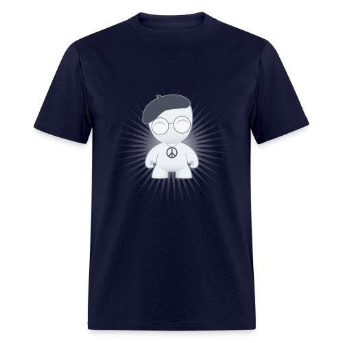 the Intellectual Hippie Men's classic - Men's T-Shirt