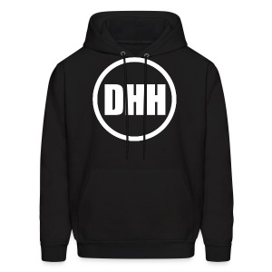 DHH Circle (White) - Men's Hoodie