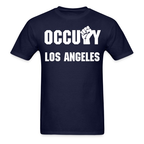 OCCUPY LOS ANGELES - Men's T-Shirt