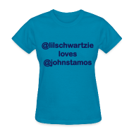 Women's T-Shirts ~ Women's T-Shirt ~ @lilschwartzie loves @JohnStamos