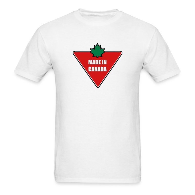 Made in Canada Tire - Men's T-Shirt