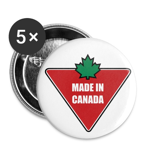 Made in Canada Tire - Large Buttons
