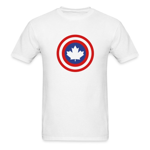 Captain Canada Shield 2 Colour - Men's T-Shirt